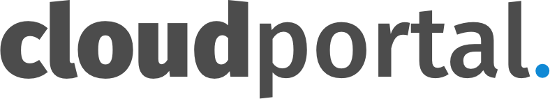 Cloudportal.dk Logo Dark